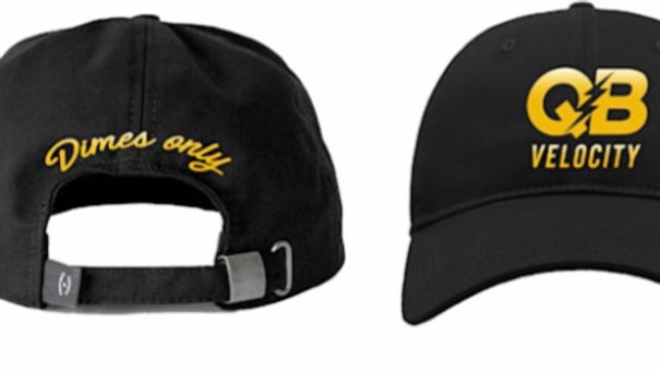 "QB Velocity ""Dimes Only"" Adjustable Hat"