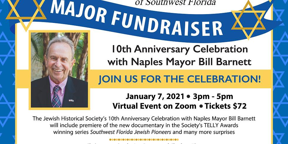 10th Anniversary of JHSSWF Celebration With 4-time Naples Mayor Bill Barnett