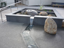 DLM Architects Rangitoto College Courtya