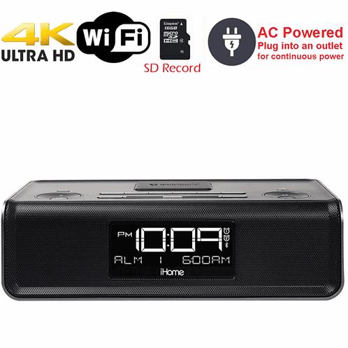 4K HD WiFi iPhone Dock Radio KC 3550