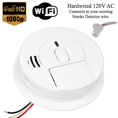 1080P WIFI SMOKE DETECTOR SD 3510