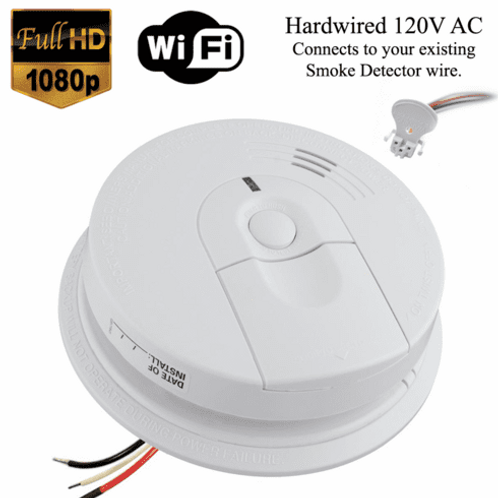1080P WIFI SMOKE DETECTOR SD 3530