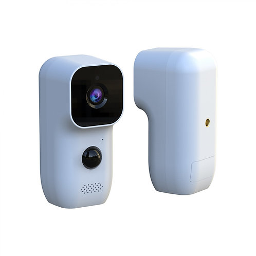 Indoor/Outdoor Battery or Solar Power Camera