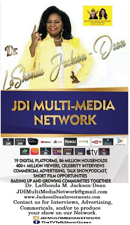 Dr. Jackson-Dean JDI Multi-Media Network