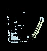 Карандаш и блокнот