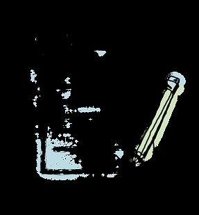 Matita e blocco note