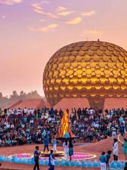 Auroville's 50th Anniversary