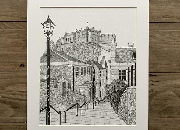 The Vennel, Edinburgh (Print)
