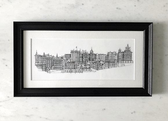 Old Town - Edinburgh Skyline (Original Artwork)
