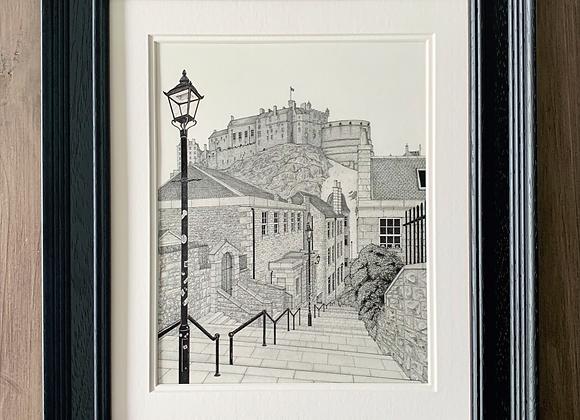 The Vennel, Edinburgh (Original Artwork)