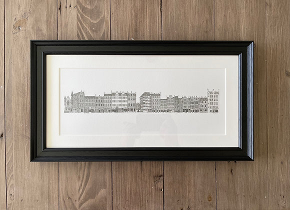 Grassmarket (Framed Print)