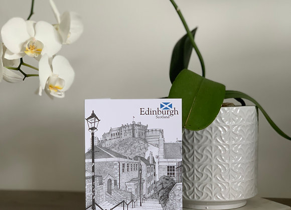 The Vennel, Edinburgh (Card)