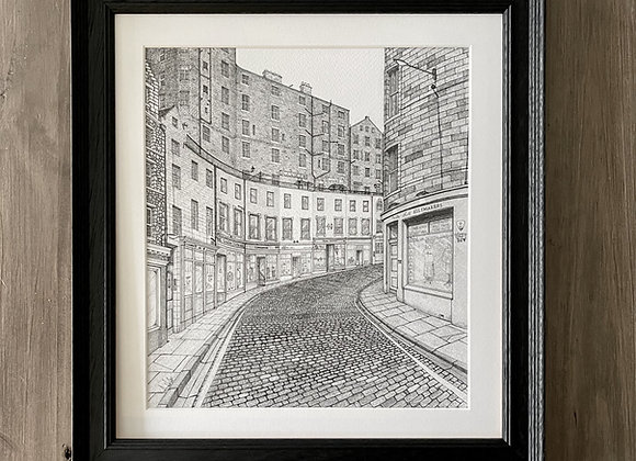 Victoria Street (Framed Print)