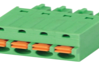 Pluggable Screwless Terminal Connector, 2.5mm,3.5mm,3.81mm