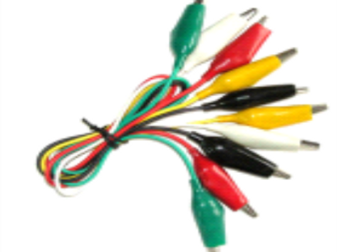 Crocodile Clips with lead wire