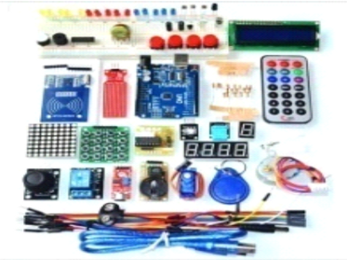 Super Mega 2560 Starter Learning Kit for Arduino 1602LCD RFID Relay Motor Buzze