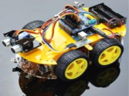 Hot Selling Smart Bluetooth Tracking/ Obstacle Avoidance Robot Car for Steam Edu