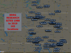 BRRG research sites