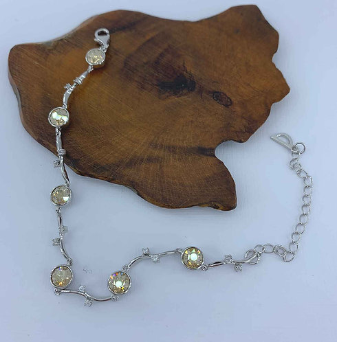 925 sterling silver Bracelet with Swarovski Crystals