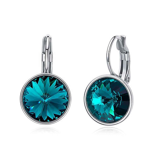 925 Sterling Silver plated earrings with Swarovski