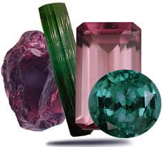Frenelle Jewellery Anniversary gemstones tourmaline