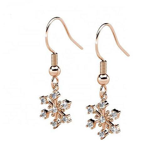 jewellery earrings rose gold