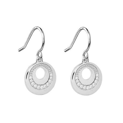 925 Sterling silver earrings with CZ Diamonds