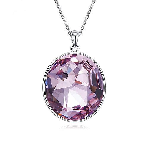 Swarovski crystal pendant set in 925 Sterling Silver
