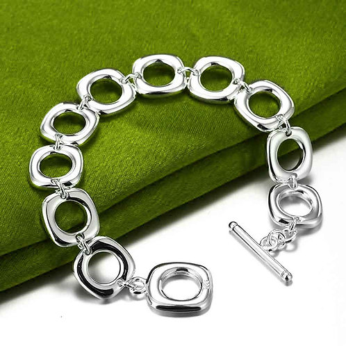 925 Sterling Silver plated bracelet
