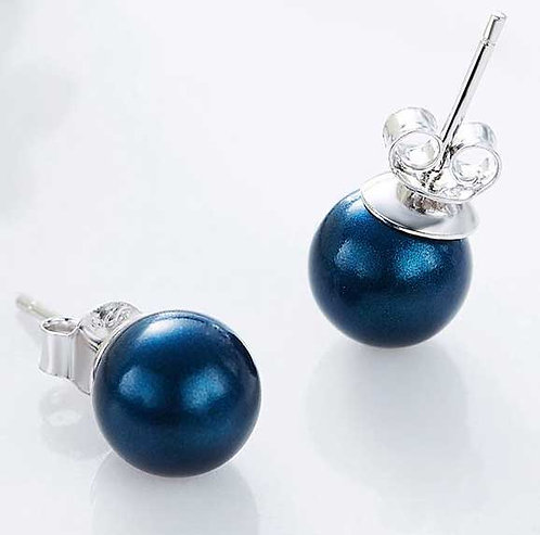 925 Sterling Silver Stud earrings with Freshwater Pearls