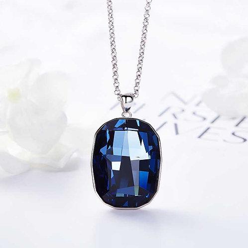 Swarovski crystal Necklace set in 925 Sterling Silver