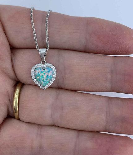 opal swarovski jewellery necklace