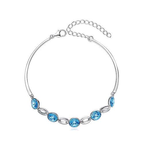 Swarovski silver bracelet