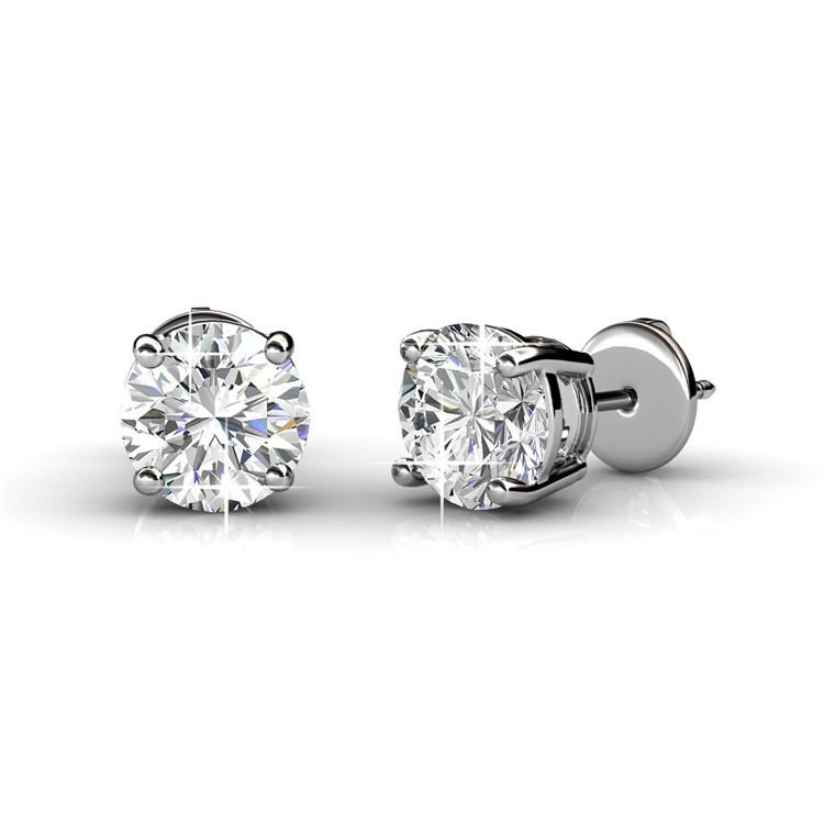 Frenelle Jewellery swarovski crystal earrings studs