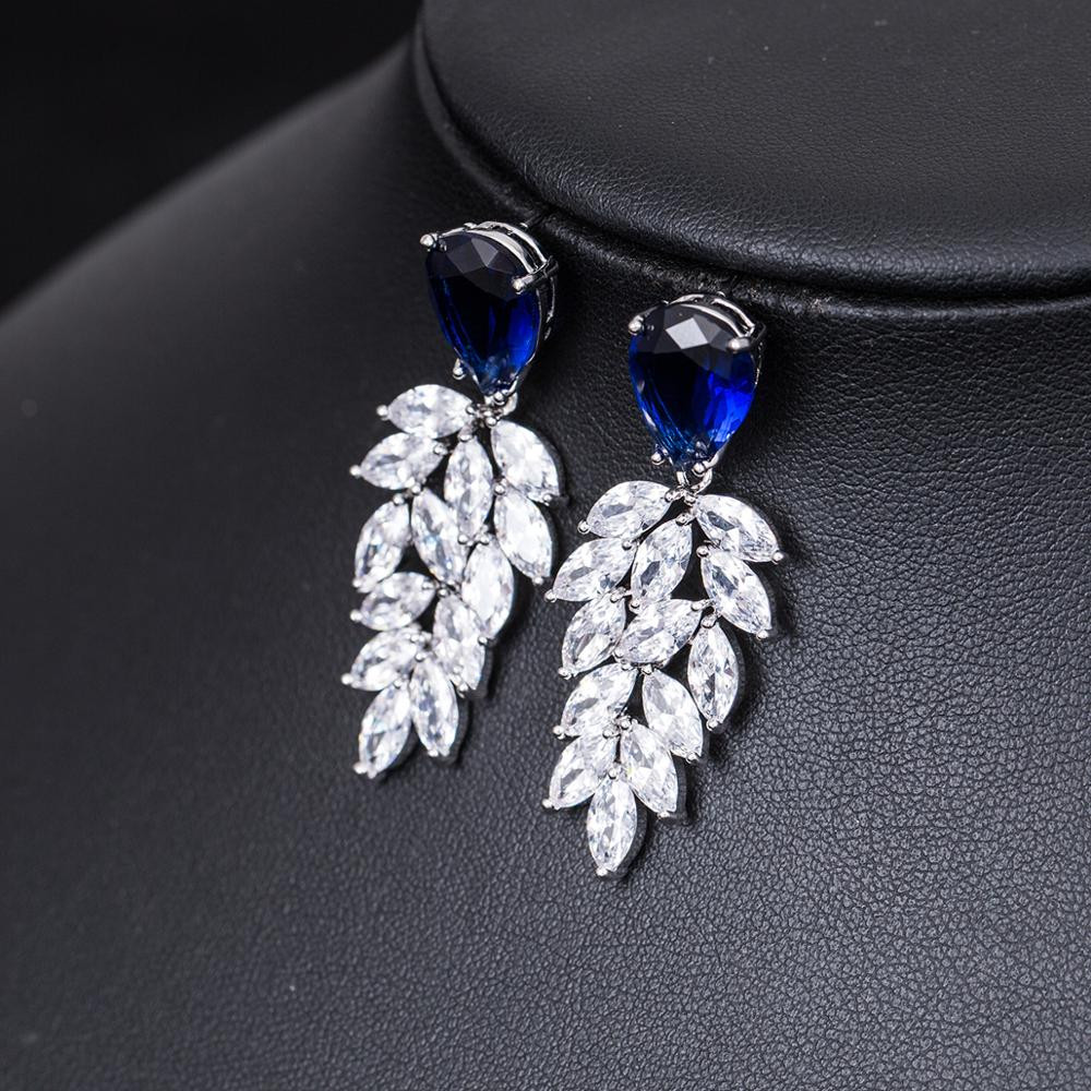 Cubic Zirconia statement earrings