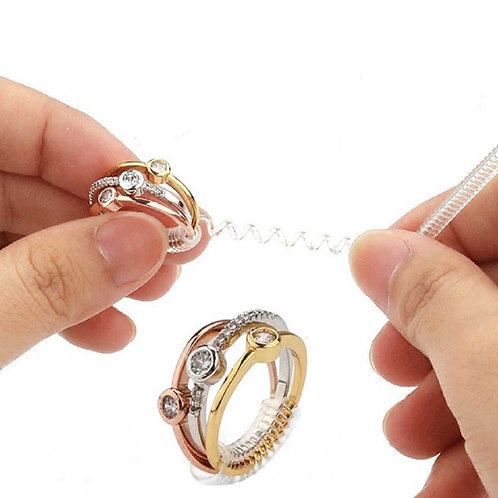 Loose Rings?  Here's the answer!  Ring Size Adjusters - set of 3