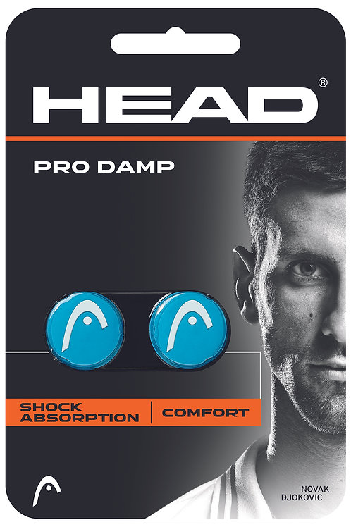 HEAD Pro Damp 2pk Blue, Black, Yellow