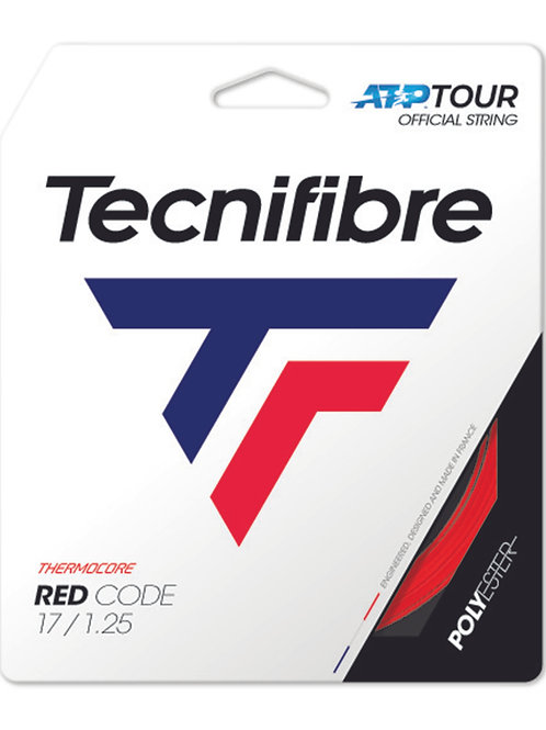 Tecnifibre Pro Red Code 1.25mm Red Tennis String