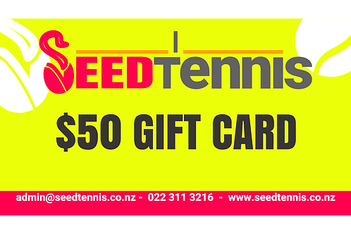 SEED Tennis Gift Card