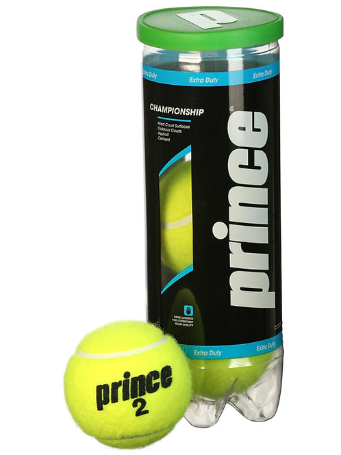 Prince Champ Extra Duty Felt Tennis Ball – tube of 3