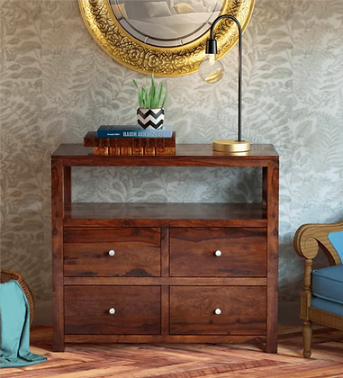 Kry Solid Wood Chest of Drawers