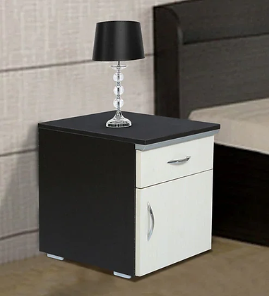 Oppo Bed Side Table in Brown Color
