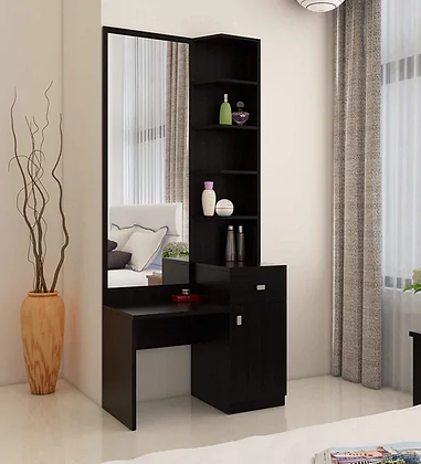 Blasting Dressing Table in Brown Color