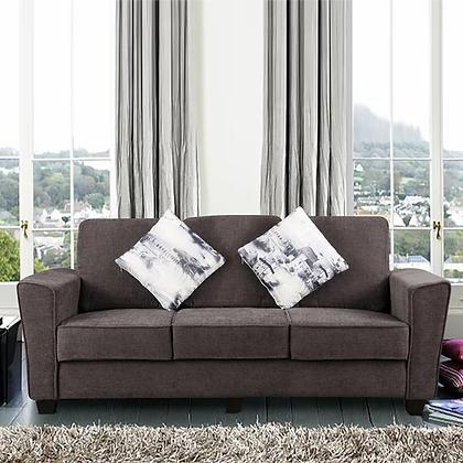 Divine Sofa Set in Black Color