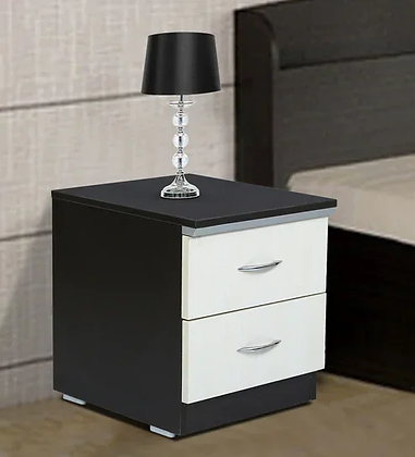 Classic Bed Side Table in Brown Color