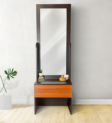 Ultimate Dressing Table in Brown Color