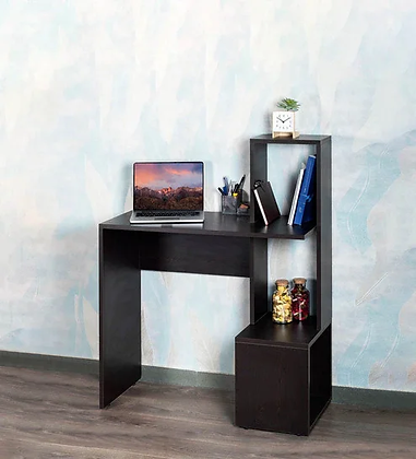 Cristal Study Table in Brown Color