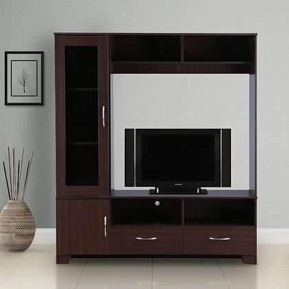 Classic TV Unit in Brown Color
