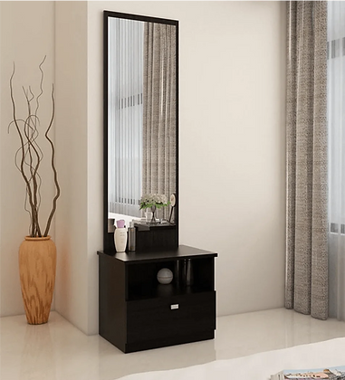 Kosmos Value Dressing Table in Natural Wenge Woodpore Finish