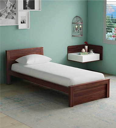 Nevo Bed in Brown Color